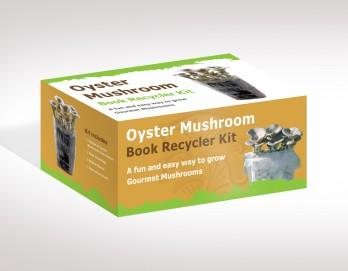 Oyster Mushroom Book Growing Kit