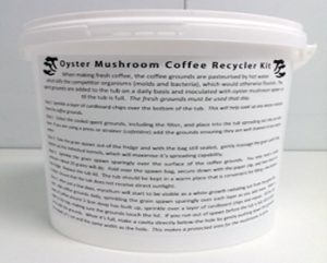 Oyster Mushroom Coffee Growing Kit