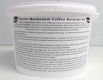 Oyster Mushroom Coffee Growing Kit