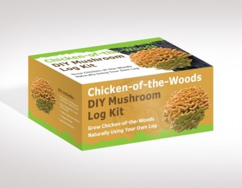 Chicken-of-the-Woods Mushroom Log Kit
