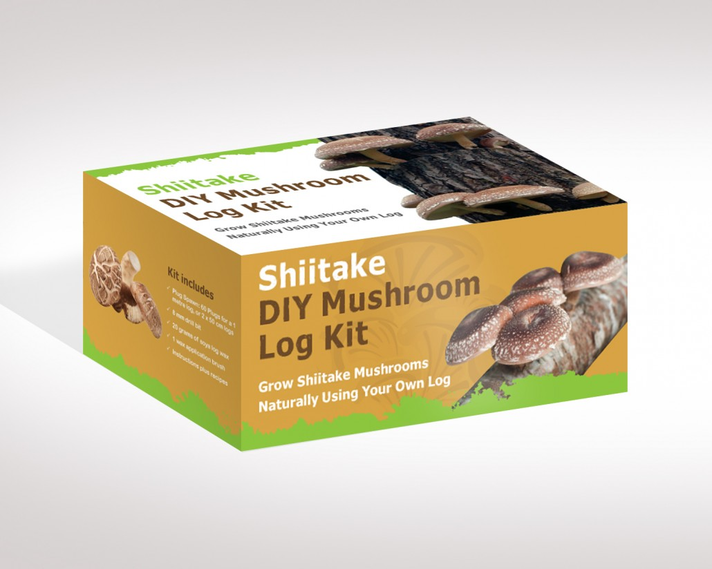 shiitake mushroom log instructions